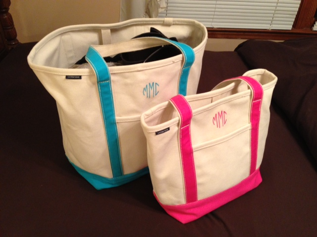 Sweet Like a Song: Medium Lands' End Canvas Tote Review