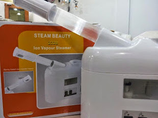 Hot and Cold Facial Steamer