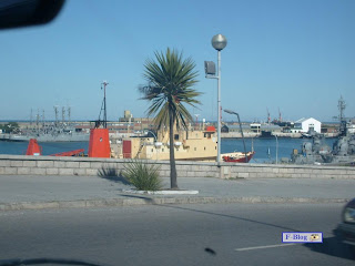 Mar del Plata - Barcos de guerra en el mar