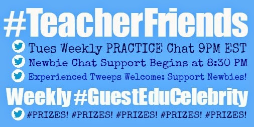 #TeacherFriends Weekly Twitter Chat 9 PM EST