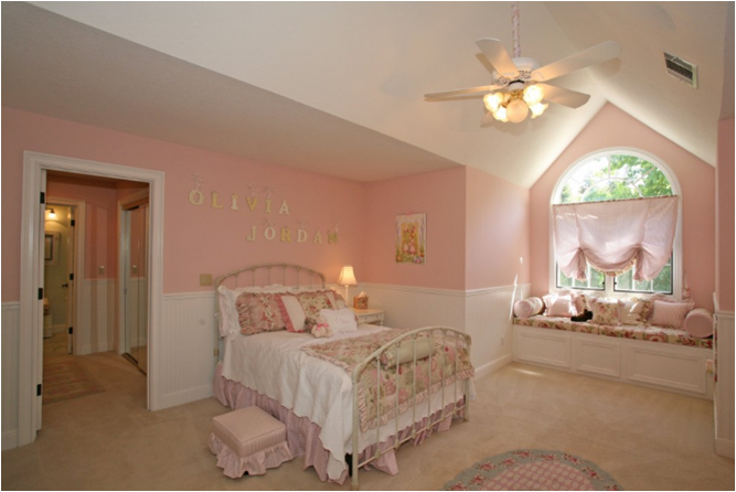 Girly girl vintage style bedrooms room design ideas for Bedroom designs vintage