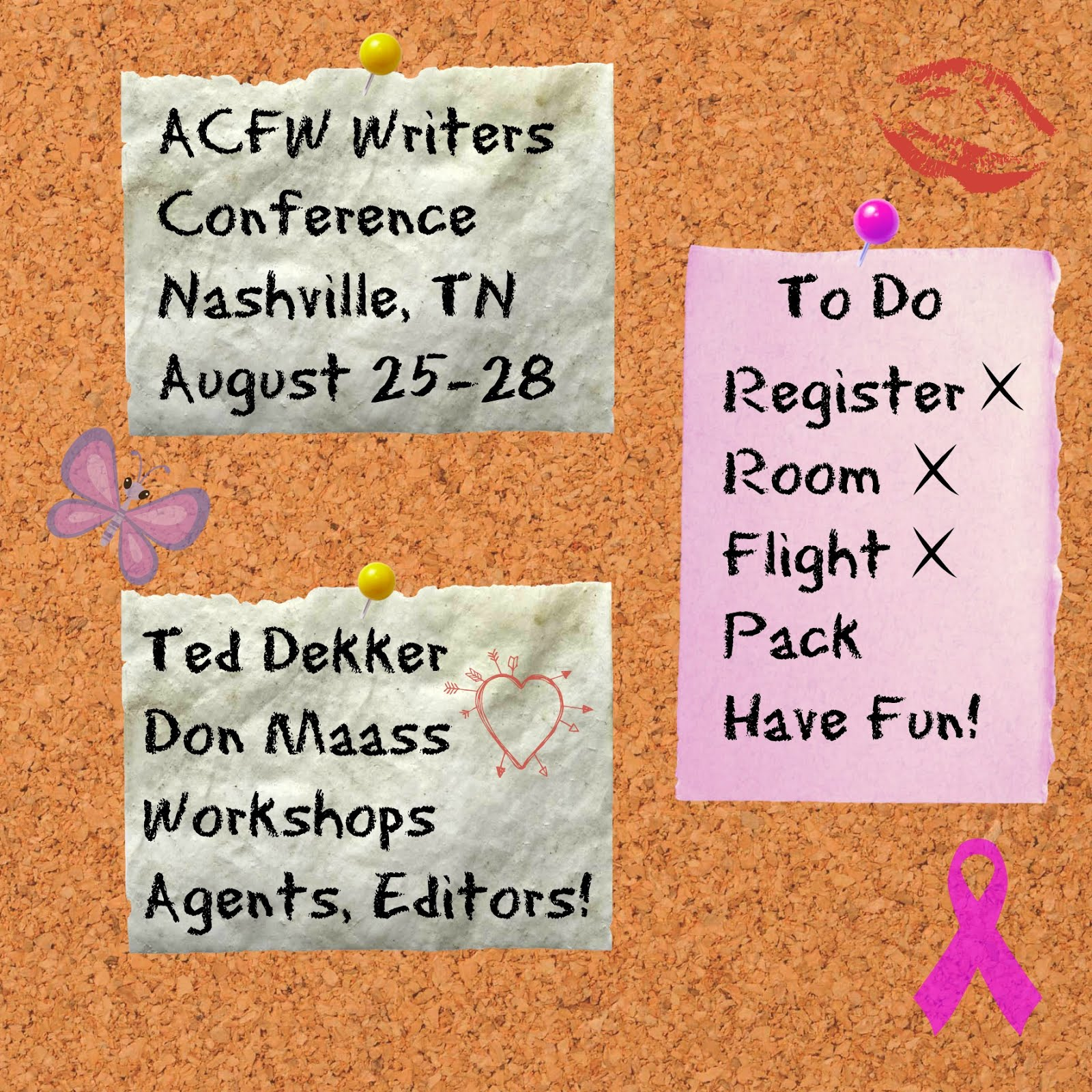 2016 ACFW Writers Conference