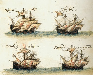 bateaux de Cabral