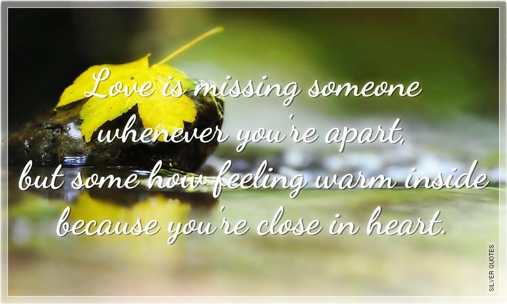 Quotes  Love Quotes  Sad Sad Quotes Missing Someone You Love
