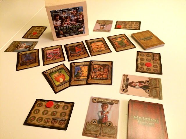 Halfling Feast Card Game Components
