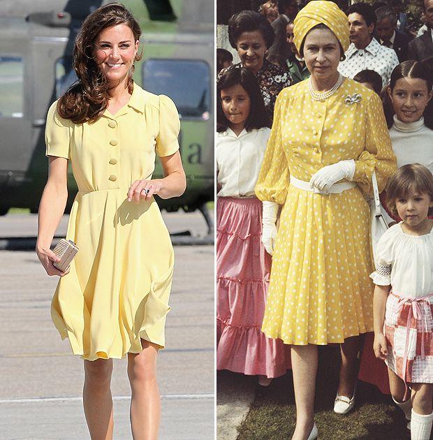 Fashion Goddesses Kate Follows Queen Elizabeth S Footsteps