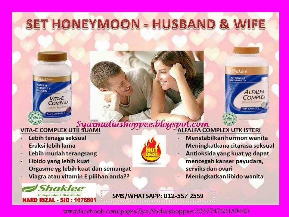 set honeymoon shaklee