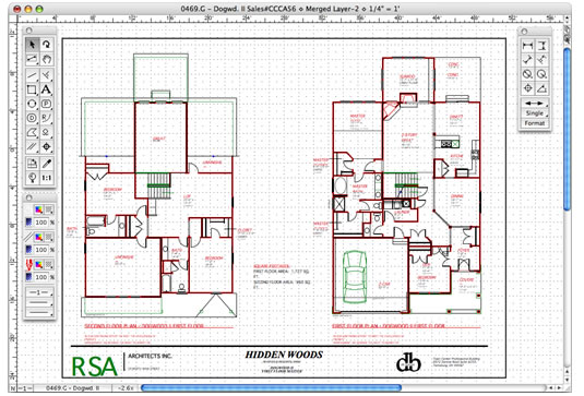 All architecture architectural drawing Cad software for house plans