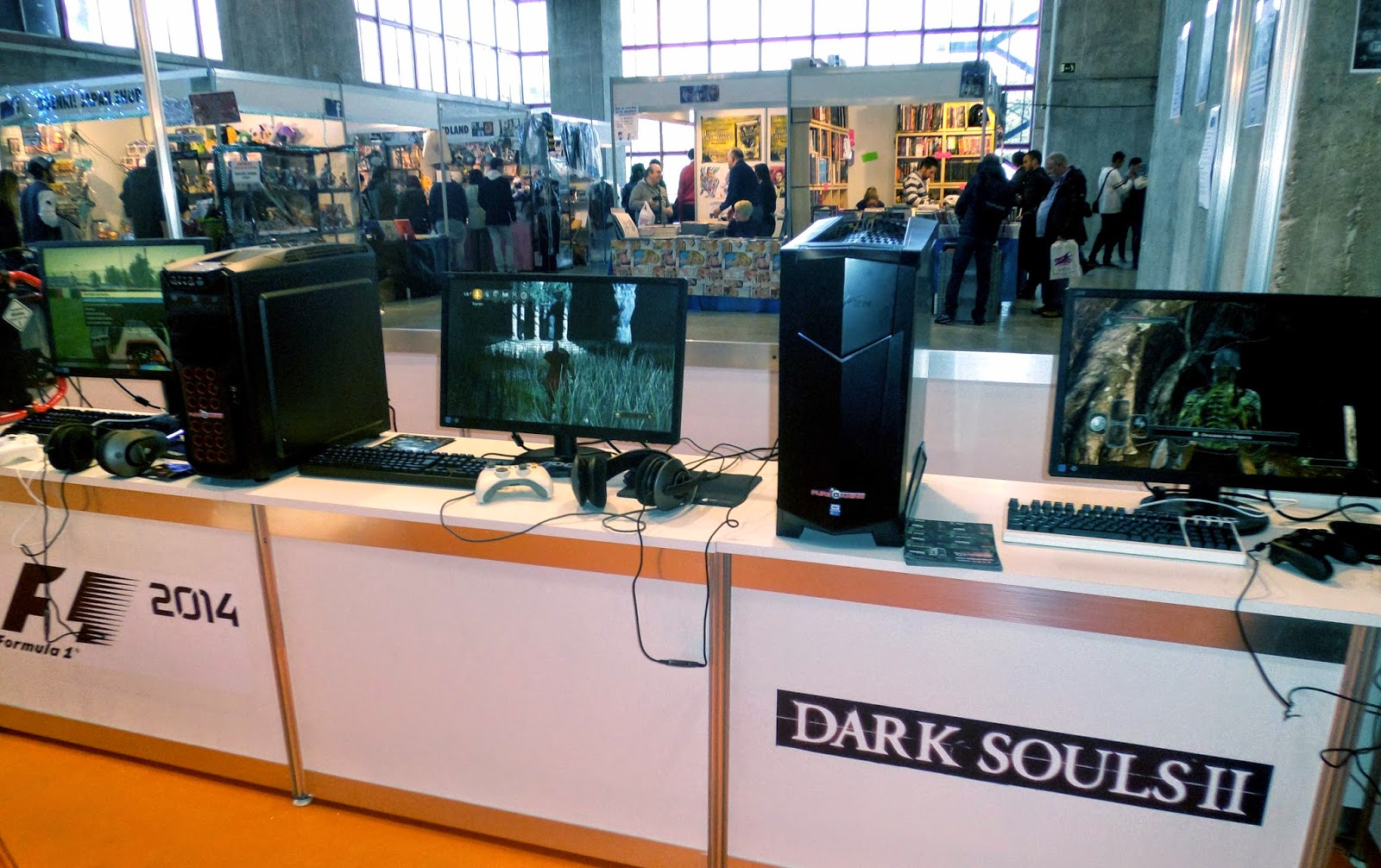 dark souls 2 expocomic 2014