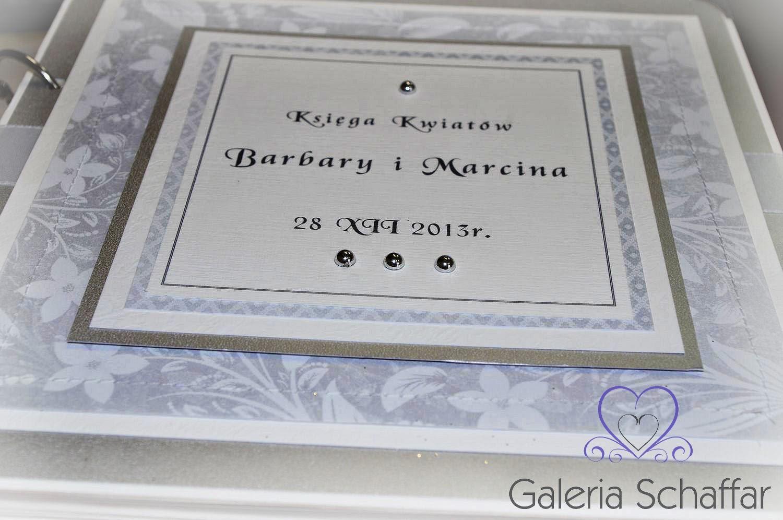 ręcznie robiona księga gości wesele ślub hand made wrocław