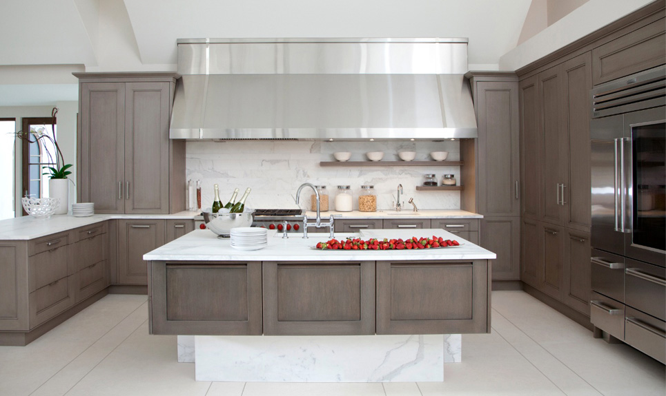 Redirecting - Modern kitchen ideas with brown kitchen cabinets ...