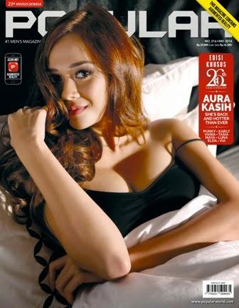 Popular-World Edisi 316 - Mei 2014 Aura Kasih