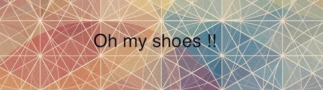 Oh my shoes ! !