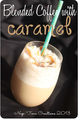 Blended Coffee with Caramel