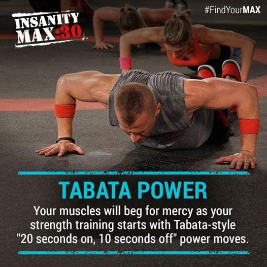 Insanity Max:30, Insanity, Shaun T, Max out, Test group, beachbody , tabata