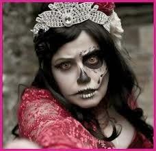 maquiagem para halloween feminina