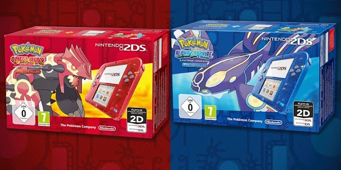 Pokemon Omega Ruby and Alpha Sapphire 2DS