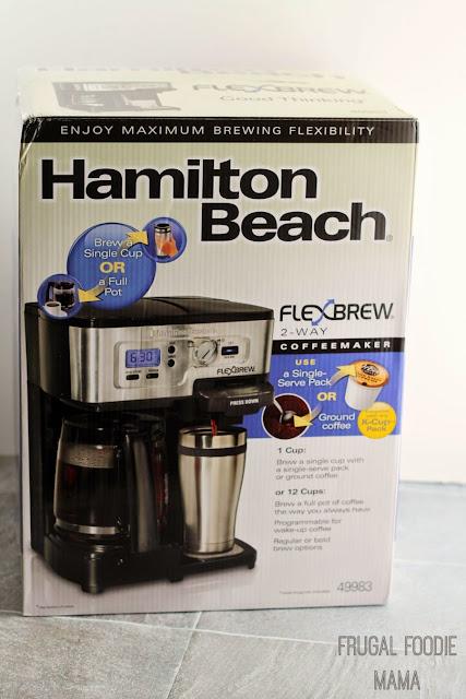 Enter to win a Hamilton Beach FlewBrew 2-Way Coffee Maker! Ends 5/12/15