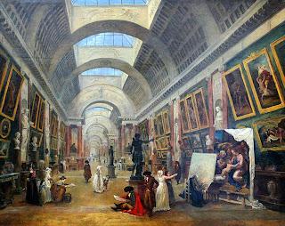 La Grande Galerie du Louvre, 1796