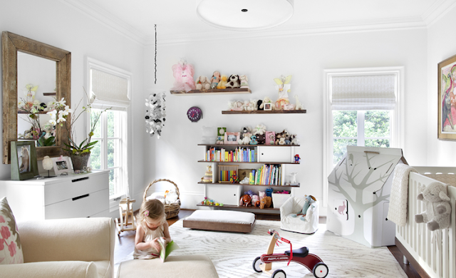 Gender-Neutral Nursery White