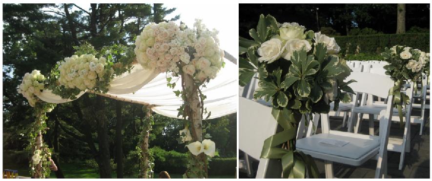 Late Summer Tappan Hill Wedding - Surrounding Flowers ...