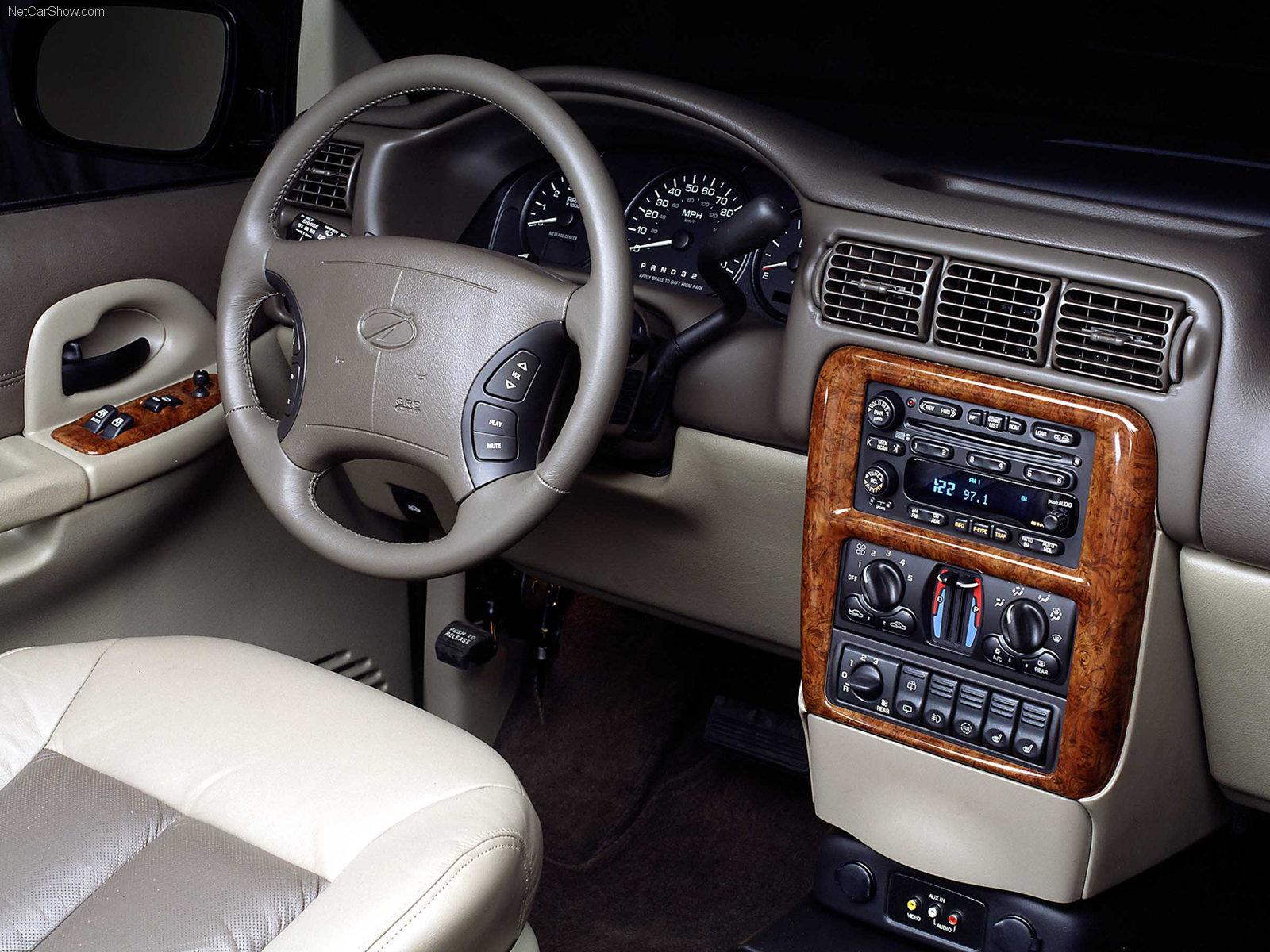 Hình ảnh xe ô tô Oldsmobile Silhouette 2000 & nội ngoại thất