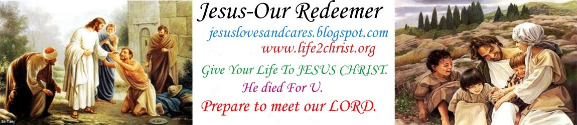 Jesus- Our Redeemer
