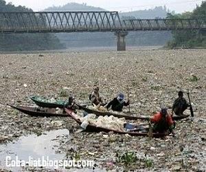 Sungai paling tercemar di dunia