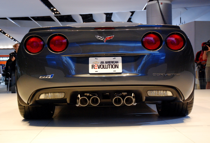 Mobil Chevrolet Corvette ZR1 title=