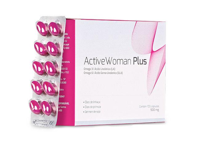Composto Active Woman Plus - Foto: Reprodução