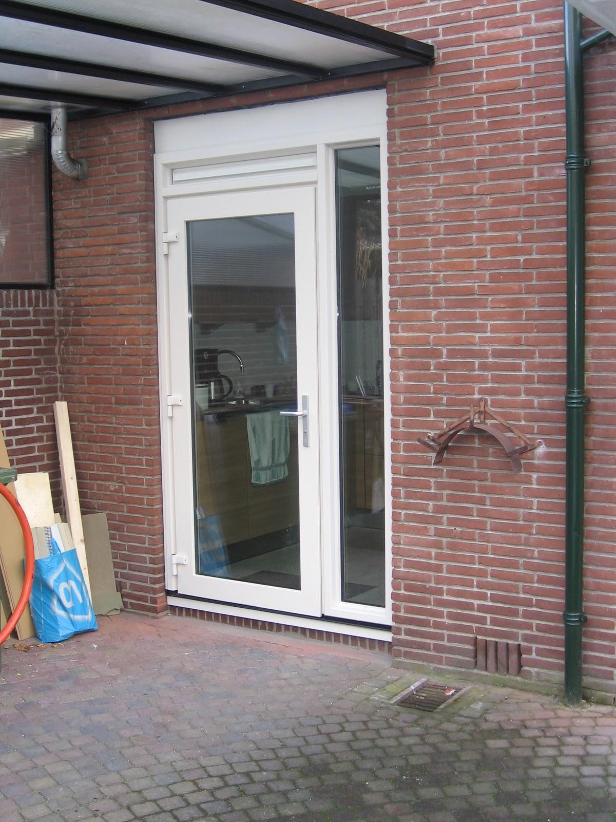 Keukendeur Maken : Verbouwcenter Ede: Kunststof Sch?co kozijnen .