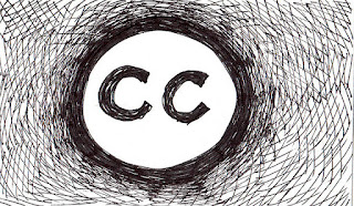 Creative Commons licence drawing