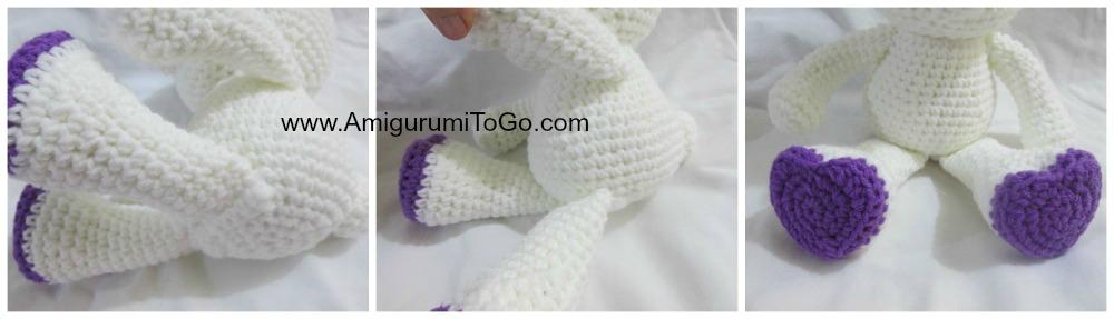 Amigurumi To Go Valentine Bear : Valentine Teddy Bear With Heart Shaped Feet Amigurumi To ...