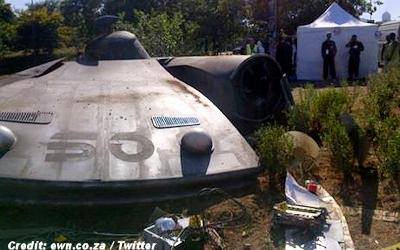 UFO Crash Site Puzzles Motorists