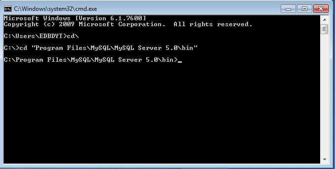 BLOG PERSAHABATAN: Cara Menjalankan Program MySQL