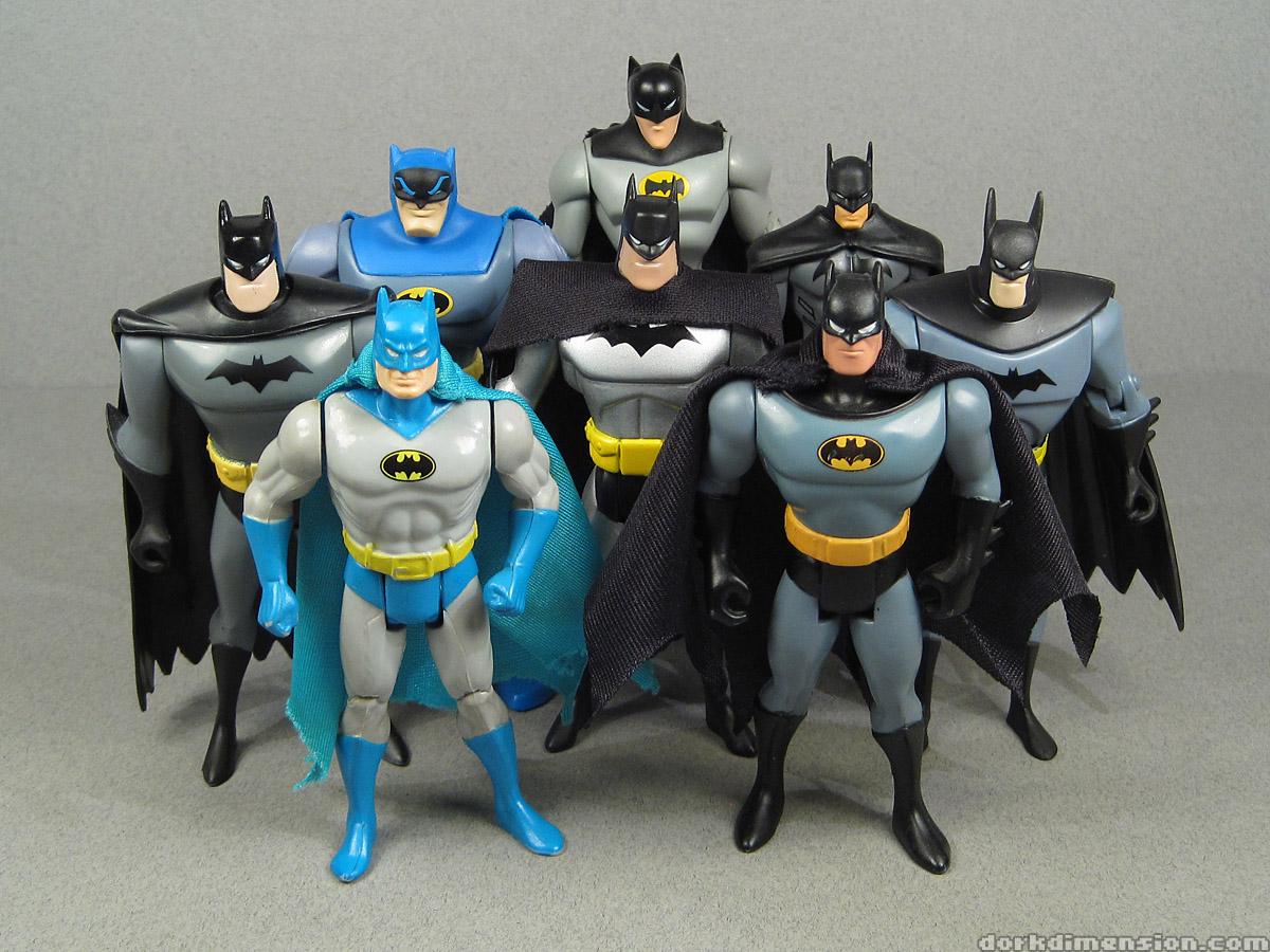 Toy tribute animated batman evolution