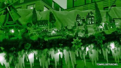 Detail auf dem berühmten Weihnachtsmarkt