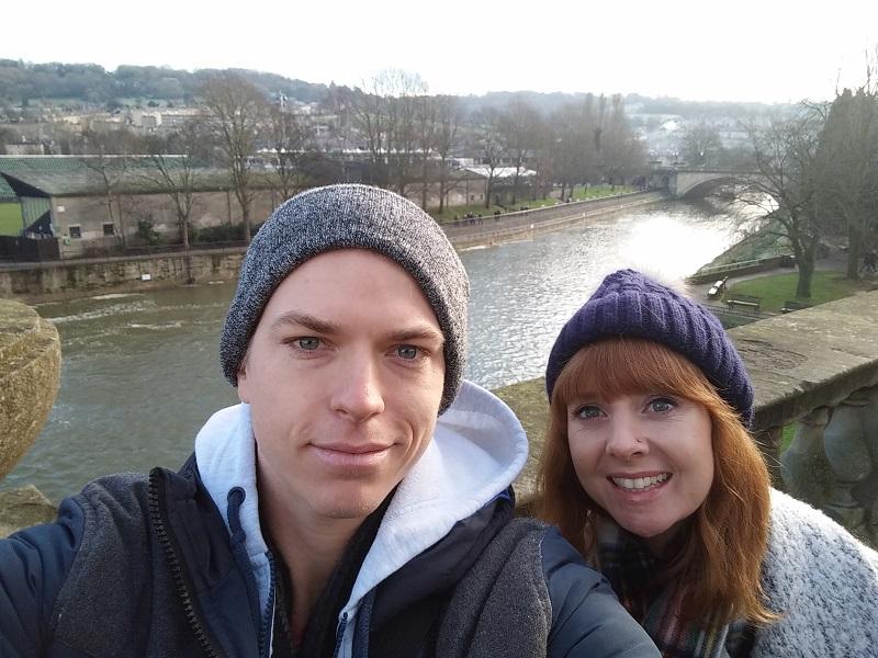 Selfie in Bath