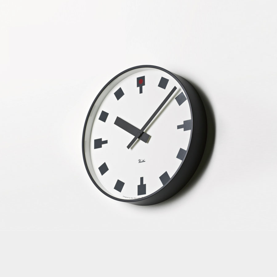 Modern interior design japanese railway clock the japanese railway clock was designed by riki watanabe riki watanabe 1911 2012 was one of the most influential designers of japan during the late 20th amipublicfo Gallery
