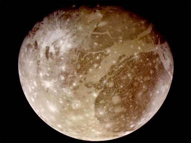 Ganymede moon