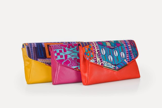 African print clutches by Eloli on ciaafrique.com