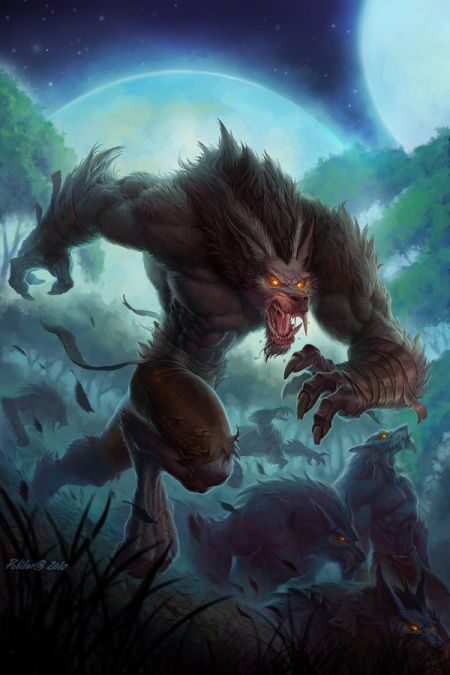 John Polidora ilustrações arte conceitual fantasia games blizzard Curse of the Worgen, HQ do universo World of Warcraft