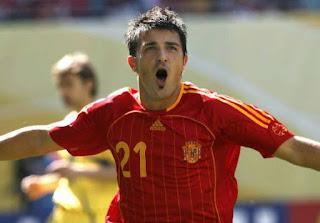 Barcelona Berencana Nego David Villa