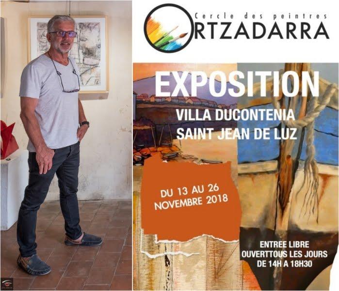 Exposition collective à Ducontenia (Ortzadarra)