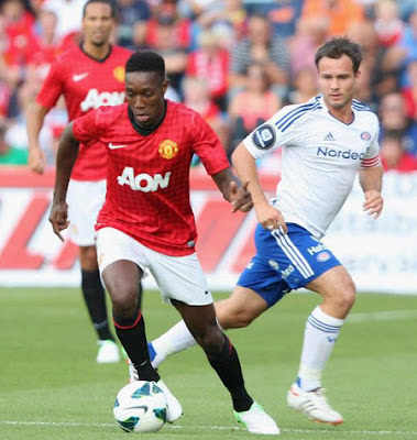 Danny Welbeck Man Utd 2012
