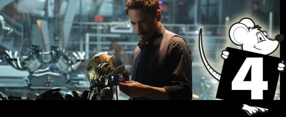 Vingadores: Era de Ultron - Nota 04 de 05