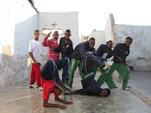 Cite Soleil, Haiti 2011: Local Break Dancing Goup the team watched perform