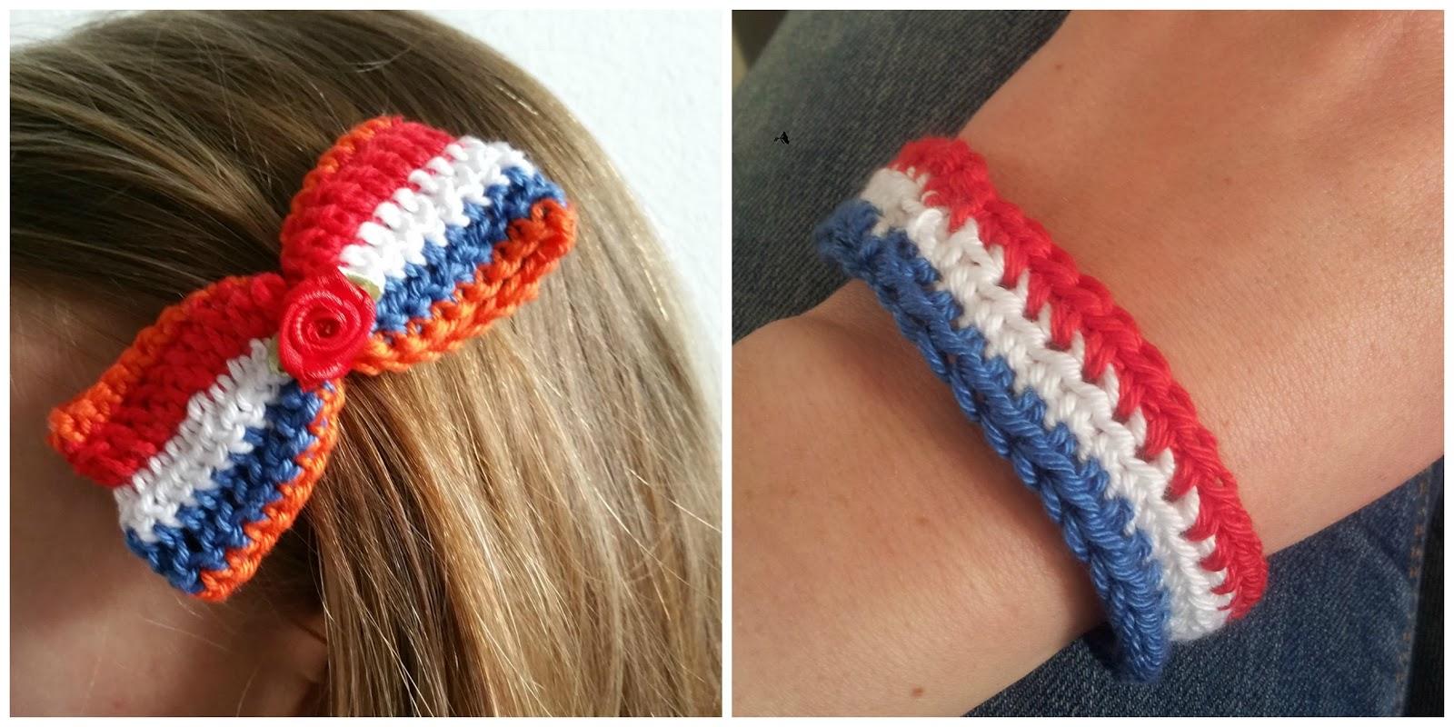 Crochet Addict Koningsdag