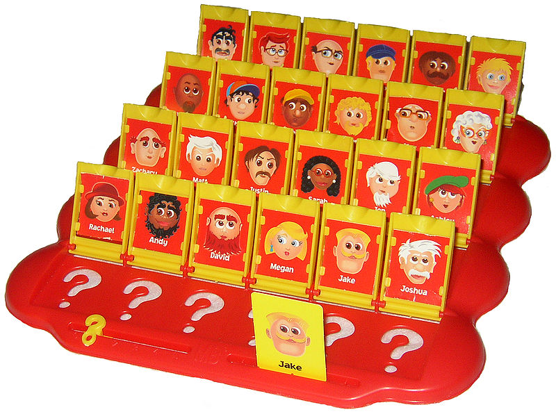Getting to know your character is like playing Guess Who?