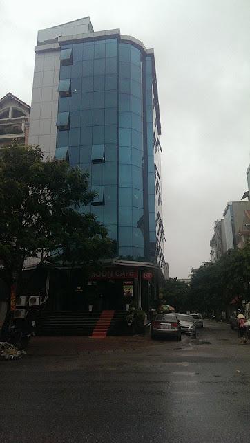 Tòa nhà Betravel 9 tầng mặt đường lớn KĐT Cầu Giấy mới có 2 mặt tiền thoáng, đẹp